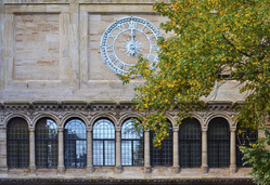The clock on the High Street archway.
