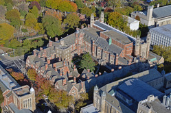 View of the Yale Law School.