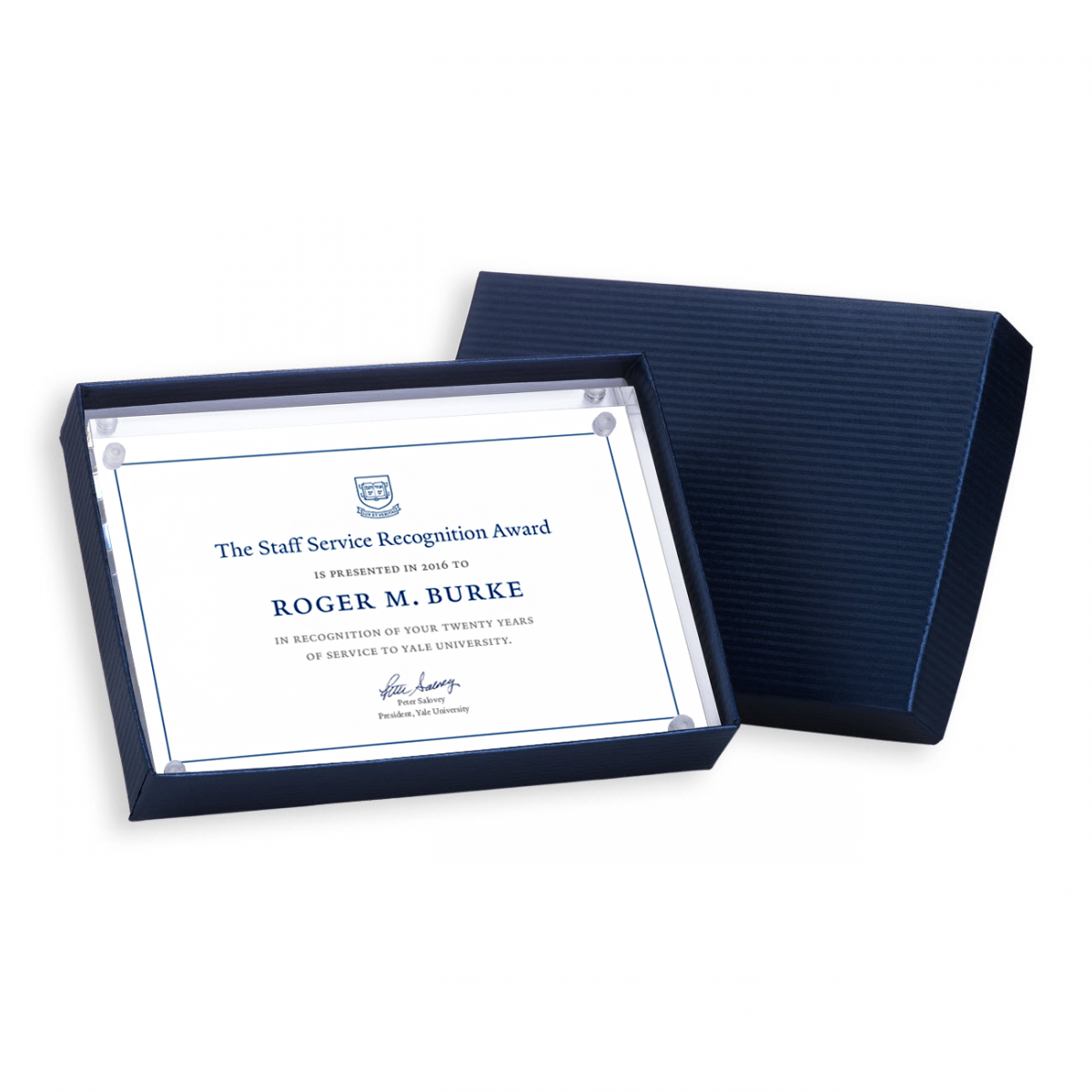 Staff recognition certificates, gifts, and communications | It's ...