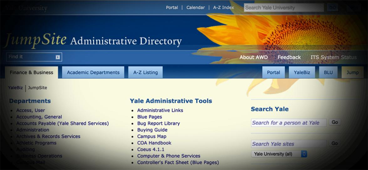 Old Yale Jump Site Administrative Directory
