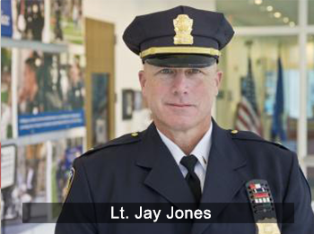 Lieutenant Jay Jones is one of YPD's instructors.