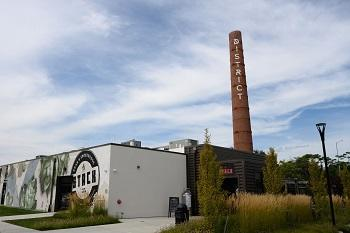 The IT summer picnic was held at The Stack restaurant