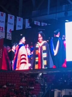 My niece, Brooke McClain, graduated from University of Maryland with B.A. in Biology, minor in Spanish.