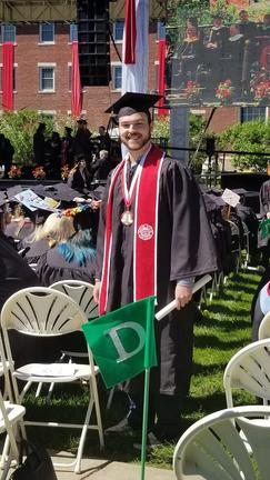 My son, Ryan Pelligrinelli, graduated from Keene State College with a B.S. in Film Production