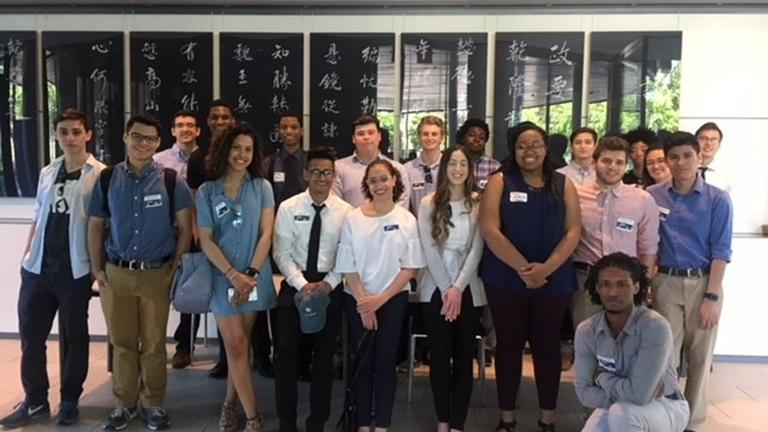 Yale Information Technology and Yale Finance interns