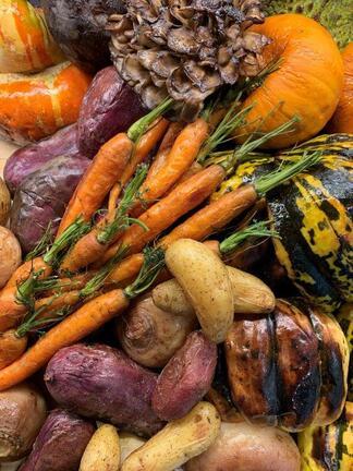 Thunder Brunch Carvery of Roasted Fall Vegetables