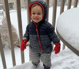 Internal Communications' Jaimee D'Agostino shares this photo of son Marco.