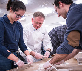 Getting hands-on with dough