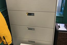 HON brand cabinet