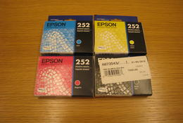 Epson 252 InkJet Cartridges