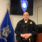 Yale Police Sergeant Chris Halstead